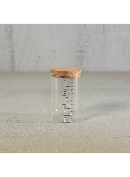 HomArt Milliliter Glass Canister - 600ml