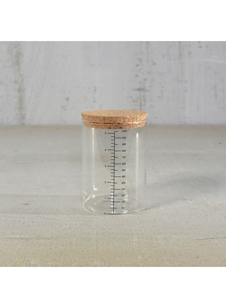 HomArt Milliliter Glass Canister - 1040ml