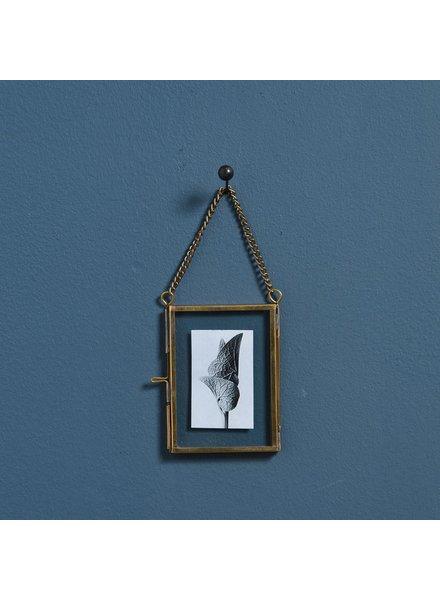 HomArt Monroe Ornament Frame - Rect - Wallet - Brass