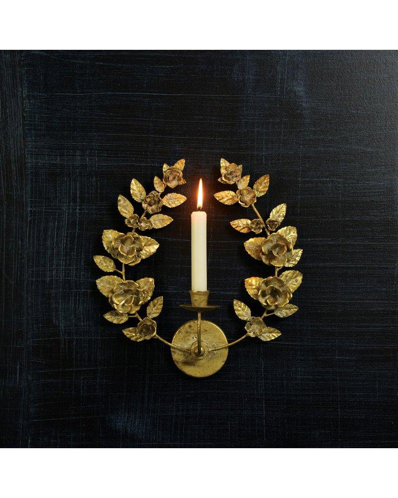 HomArt Antoinette Taper Wall Sconce - Antique Gold