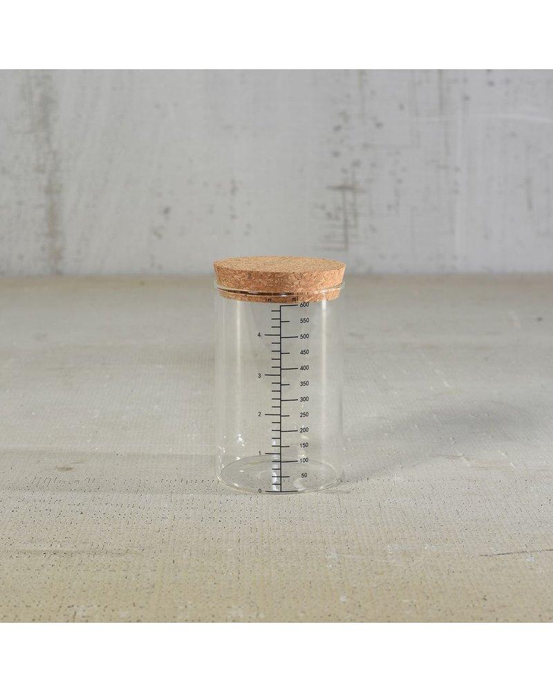 HomArt Milliliter Glass Canister - 600ml