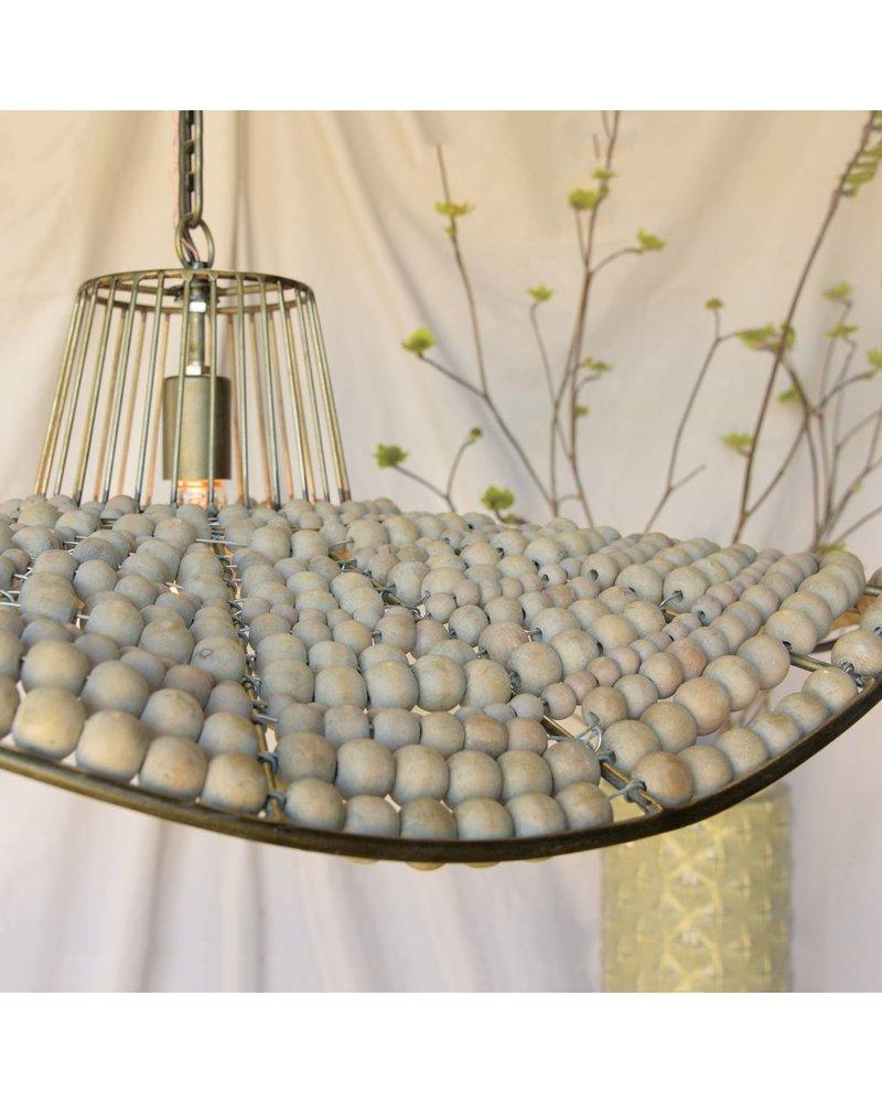 HomArt League Wooden Sphere Pendant