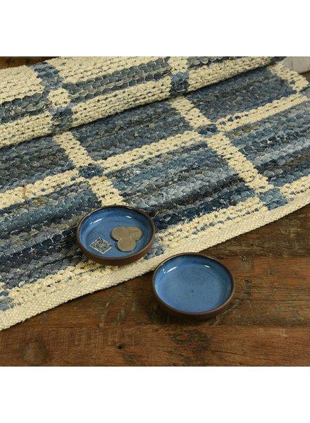 HomArt Blue Pip Low Bowl - Set of 2