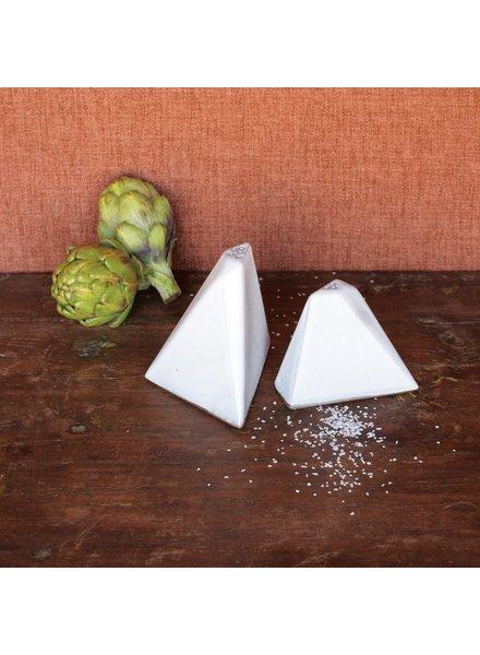 HomArt Braque Salt & Pepper Shakers - White