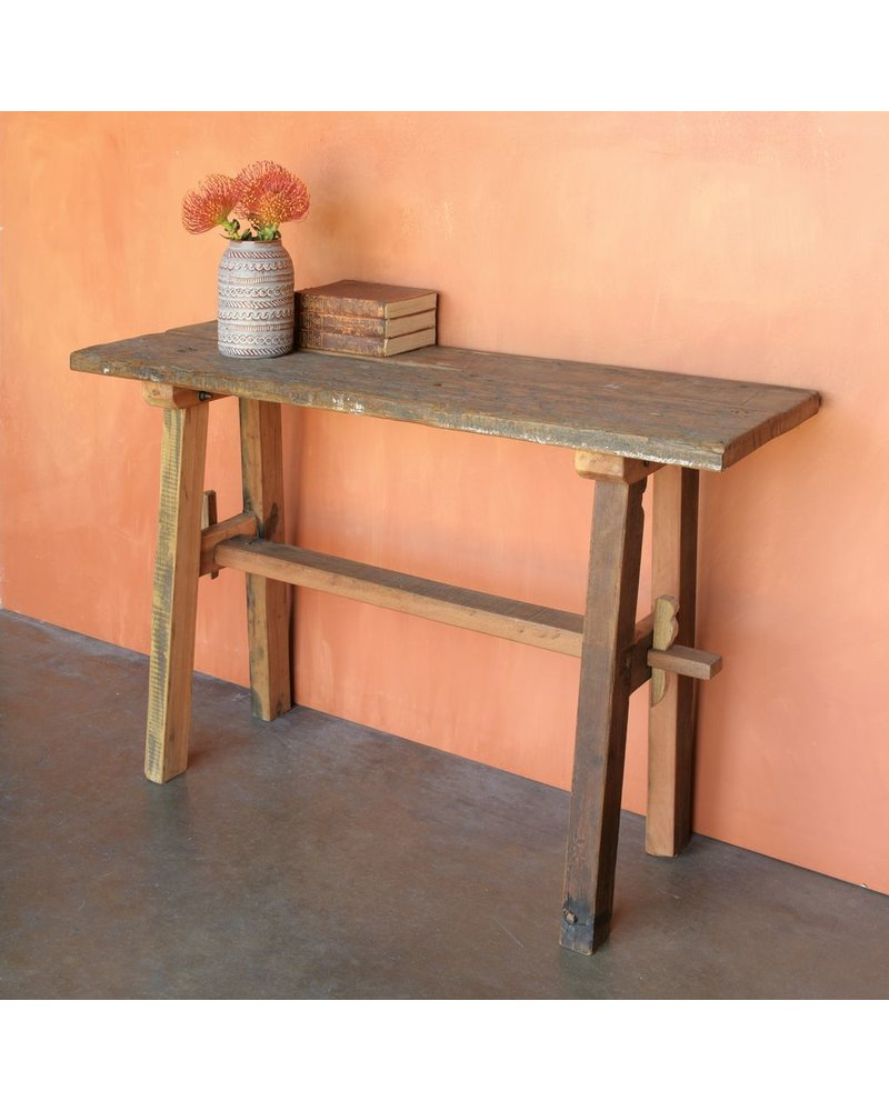 HomArt Arcadia Rustic Console Table
