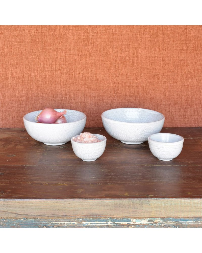 HomArt Roth Pinch Bowl - White