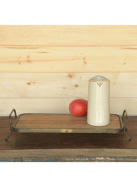 HomArt Logan Ceramic Pitcher - Flecked White