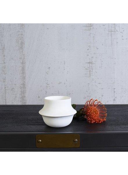 HomArt Vita Vase - Sm - Bisque White