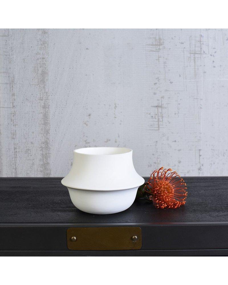 HomArt Vita Vase - Lrg - Bisque White