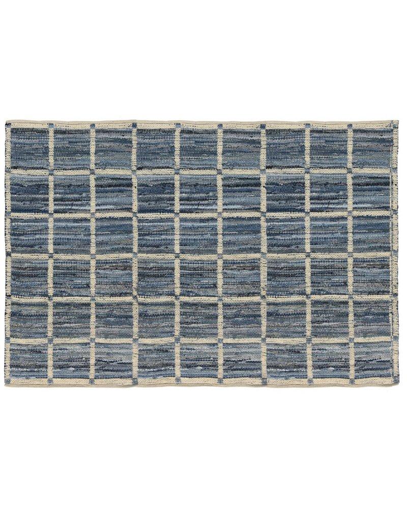 HomArt Strauss Rug 5x8 - Grid Pattern