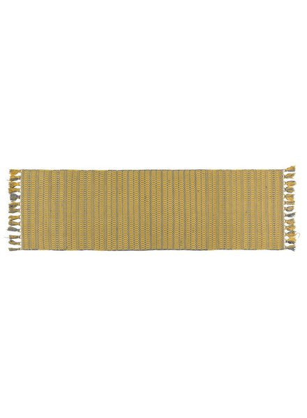HomArt Santa Ynez Runner 2.5x8 - Grey / Yellow
