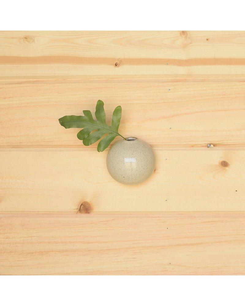 HomArt Logan Wall Bubble - Sm - Set of 2 - Flecked White