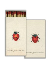 HomArt Matches -Little Lady Bug & Red Lady Bug - Red  - Set of 3