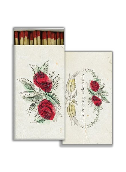 HomArt Matches - Unchanging Friendship - Red - Set of 3