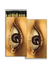 HomArt Matches - Eye - Black - Set of 3
