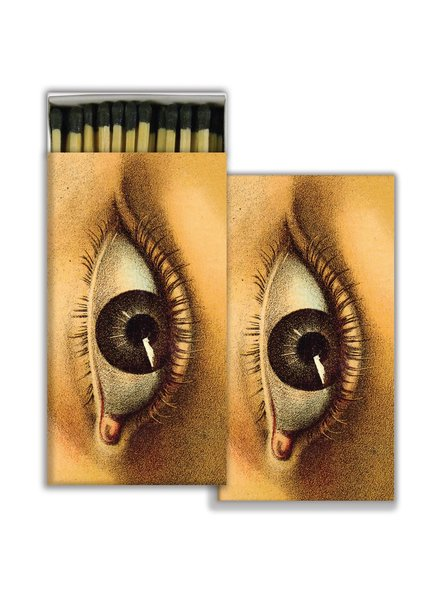 HomArt Matches - Eye - Black - Set of 3