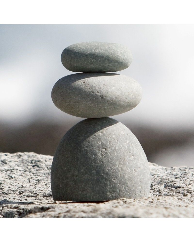 Garden Age Supply Trio Rock Sculpture