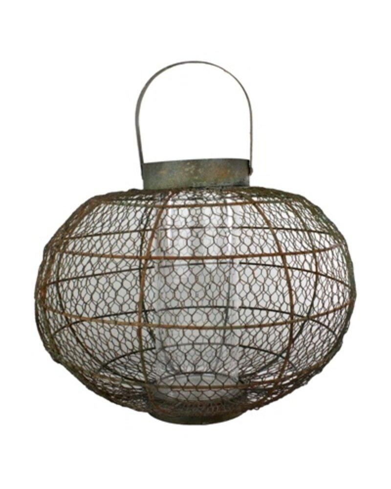 HomArt Globe Party Lantern - Med - Natural