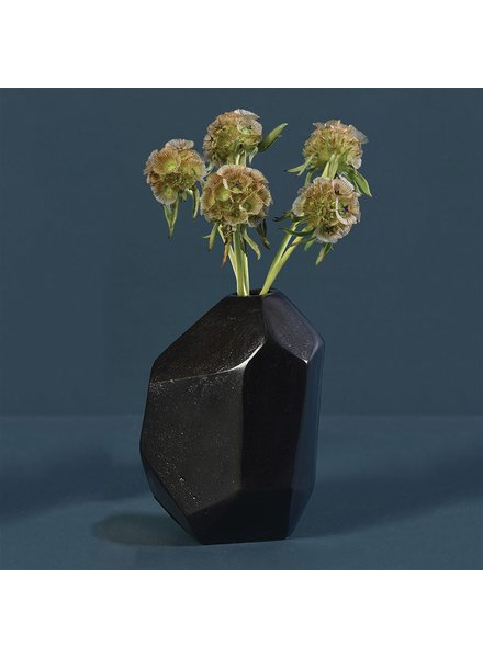 HomArt Liv Faceted Vase - Bronze