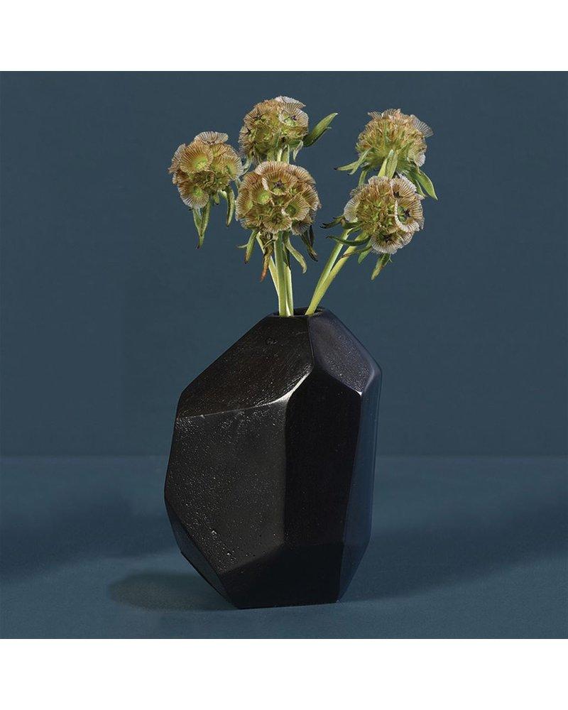 HomArt Liv Faceted Vase - Bronze