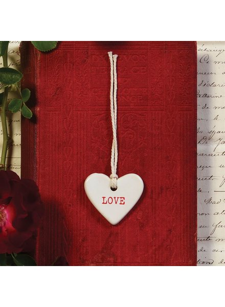 HomArt Love Ceramic Tag - Set of 4