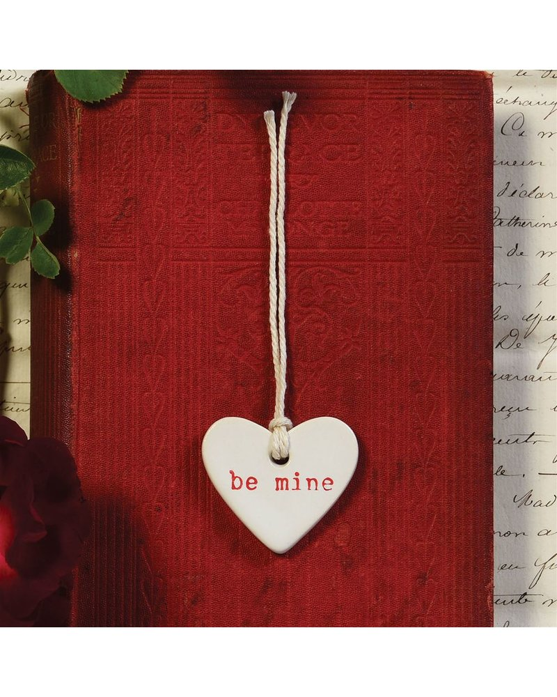 HomArt Be Mine Ceramic Tag - Set of 4