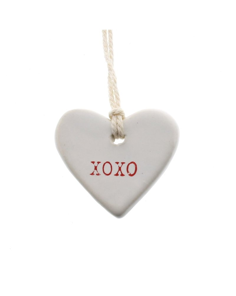 HomArt XOXO Ceramic Tag - Set of 4