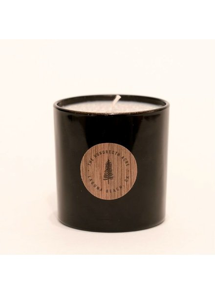 The Hundredth Acre Bees on Lavender Candle
