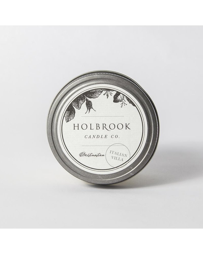 Holbrook Candle Co Italian Villa 4oz Candle