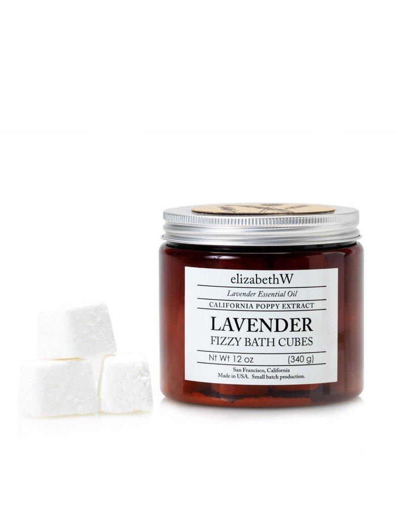 Fizzy Bath Cubes Lavender 12oz