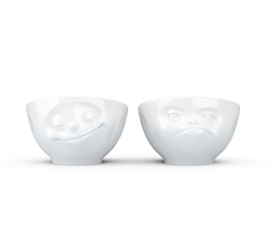 Europe Egg Cup set Happy/Hmpff!