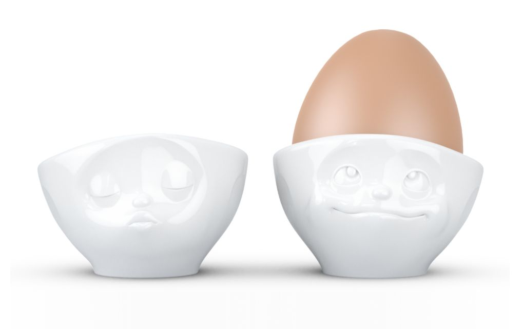 Europe Egg cup set Kissing/Dreamy
