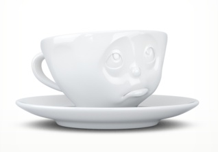 """Europe Espresso Cup """"Oh please"""""""