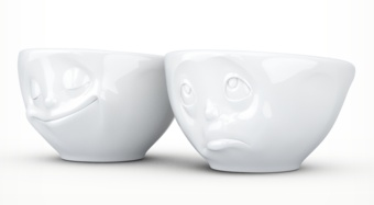"Europe Small bowl set ""Happy&Please"""