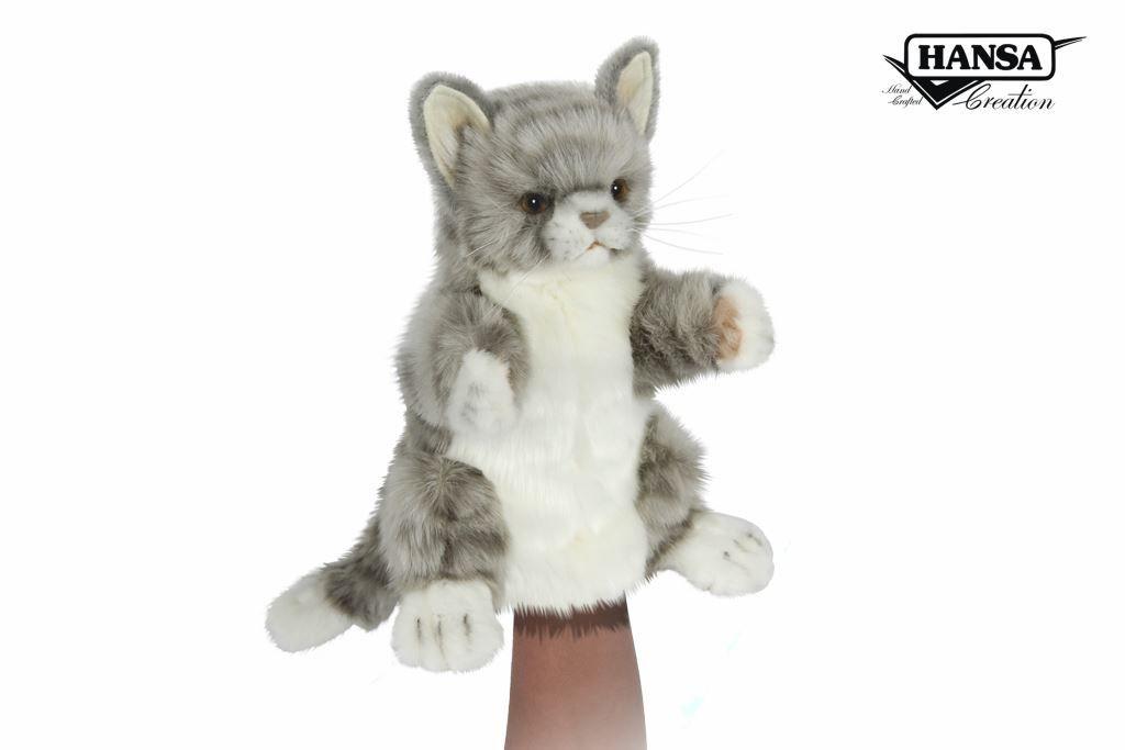 Australia CAT JACQUARD PUPPET 30CM L