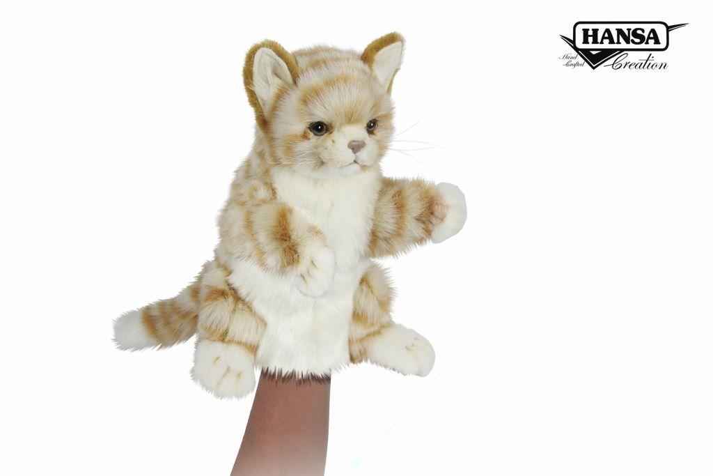 Australia GINGER CAT PUPPET 30CM L
