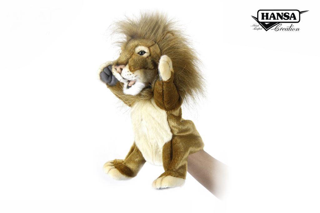 Australia PUPPET LION 28CM