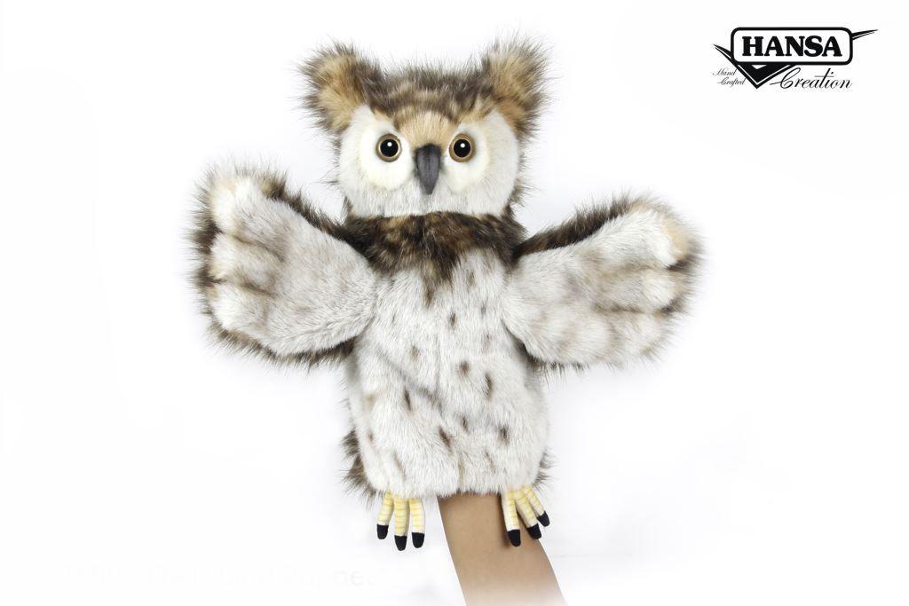 Australia PUPPET OWL 34CM