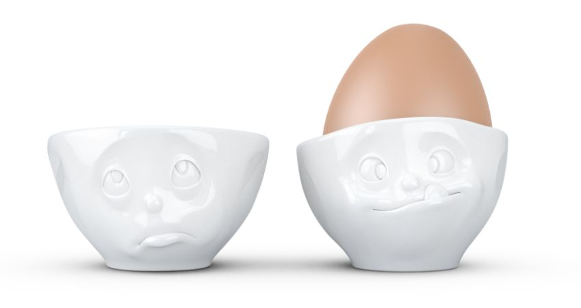Europe Egg cup set Oh please/Tasty