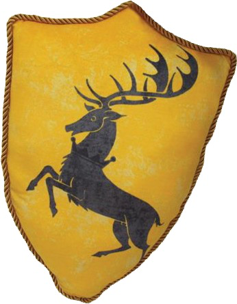 Australia Game of Thrones - Baratheon Sigil Throw Pillow