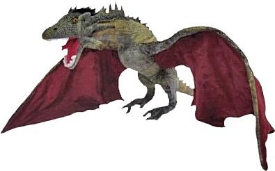 Australia Game of Thrones - Drogon Jumbo Plush