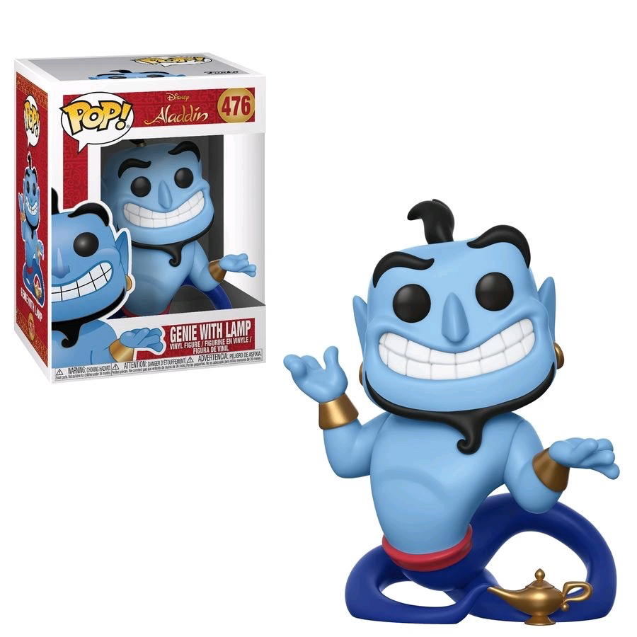 Australia Aladdin - Genie with Lamp Pop!
