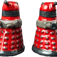 Australia Dr Who - Dalek Salt & Pepper Shaker Set