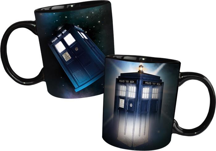 Australia Dr Who - Disappearing TARDIS Heat Changing Mug