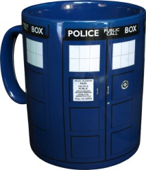 Australia Dr Who - TARDIS Mega Mug