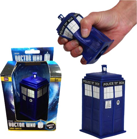 Australia Dr Who - TARDIS Stress Toy