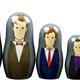Australia Dr Who - 7th-12th Doctor Nesting Doll Set