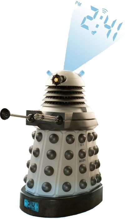 Australia Dr Who - Dalek Projection Alarm Clock
