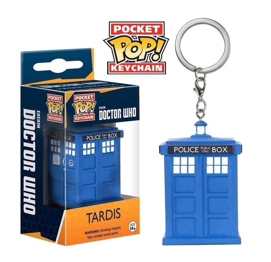 Australia Dr Who - Materialize TARDIS Pop! Keychain