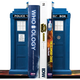 Australia Dr Who - TARDIS Bookend Set